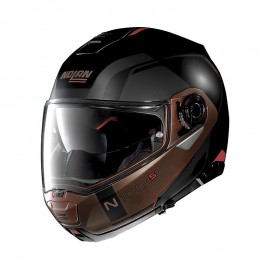 Nolan N100-5 Consistency [028] Modular Motorcycle Helmet N-Com Black Opaque-Medium
